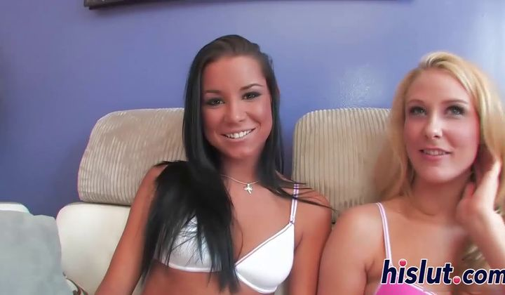 720p - Two Teenage Bints Share A Immense Dick