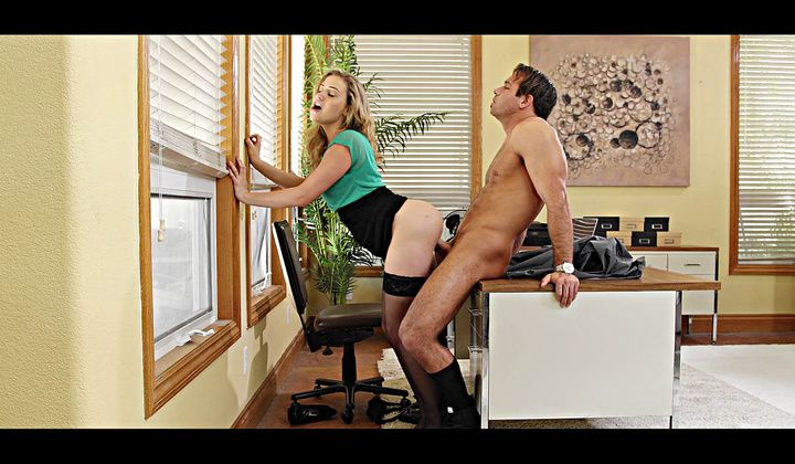 Mia Malkova Is Cute Blonde Hungry For Cock